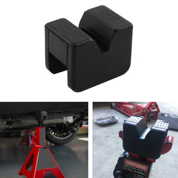 Car Lift Jack Stand Rubber Pads Floor Jack Pad Adapters Stands Mat Frame Rail Adapter Car Jacks Lifting Car Repair Tools image