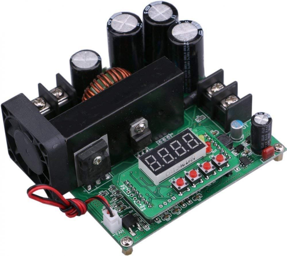 900W Digital DC-DC Output 10-120V 15A Step-up Power Module Boost Converter New