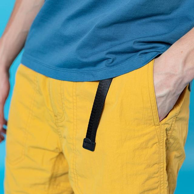 Summer beach shorts with belt
