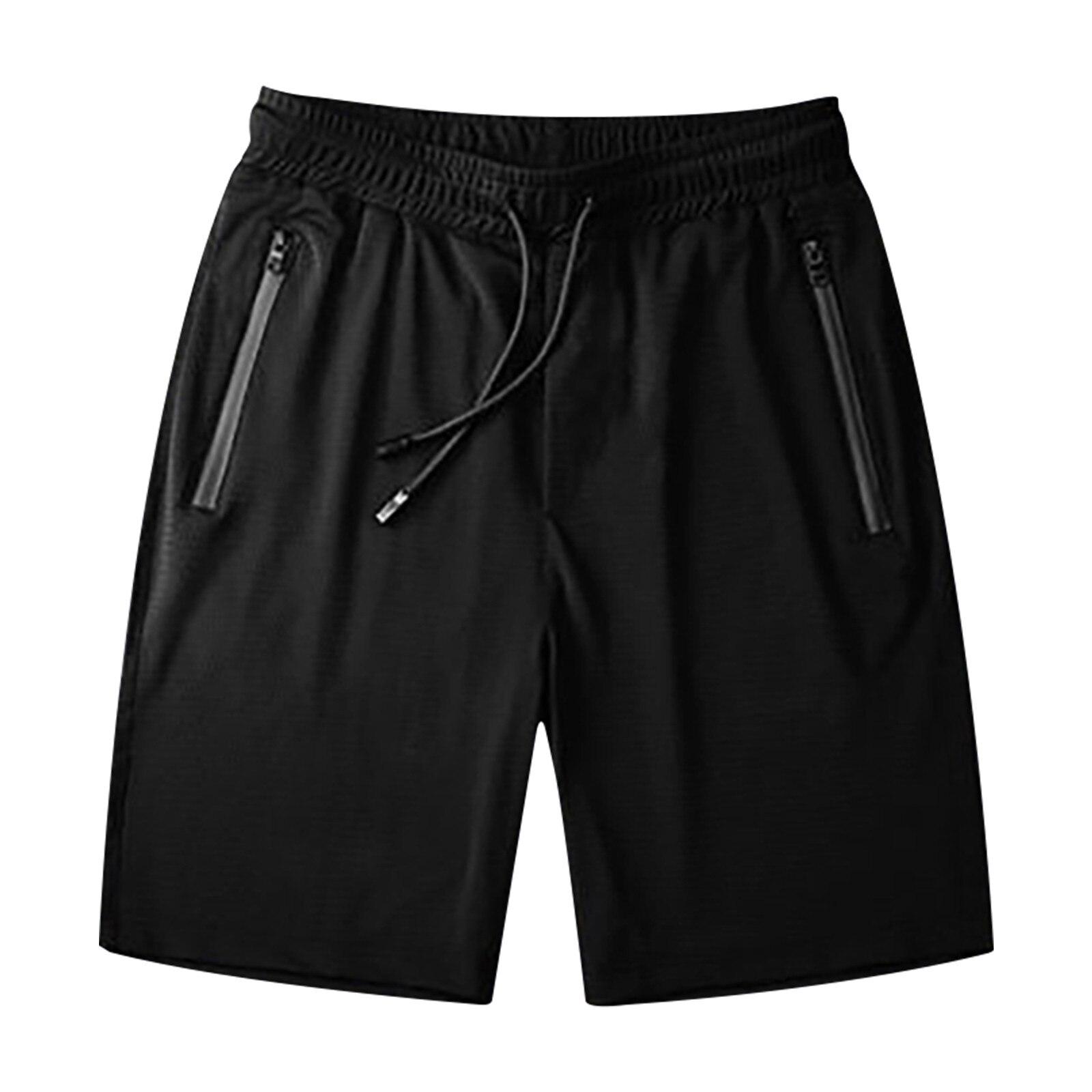 Повседневные шорты для мужчин, ледяной шелк, для фитнеса, для бега, стрейч, для йоги, мягкие мужские хлопковые тренировочные брюки для йоги, л...