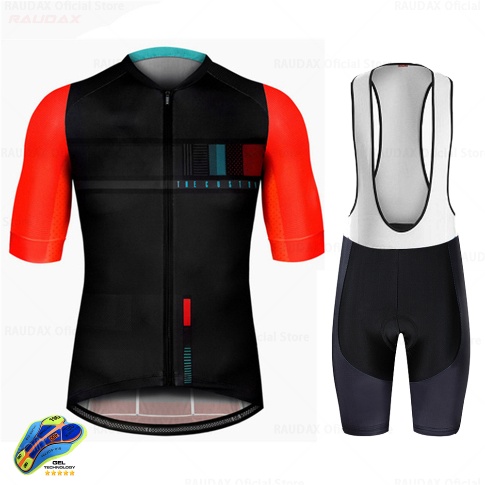 Men's Cycling Jersey Set 2020 Pro Team Bicycle Cycling Clothing Ropa Ciclismo Mtb Mountain Bike Summer Breathable Bib Shorts Set
