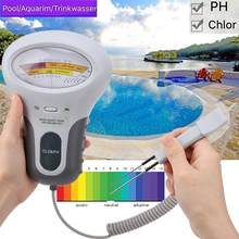 CL2 Tester Water Quality PH & Chlorine PC-101 Level Portable Digital PH Meter Swimming Pool Accessories Analytical Instruments
