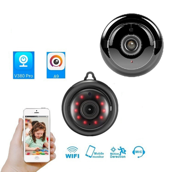 цена на Baby Monitor Wireless Video Color Security Camera 2 Way Talk NightVision IR LED Temperature Monitoring Anti Thief Safety Camera