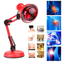 220V 100W Infrared Light Heat Lamp Adjustable Therapy Pain Relief Health Massage