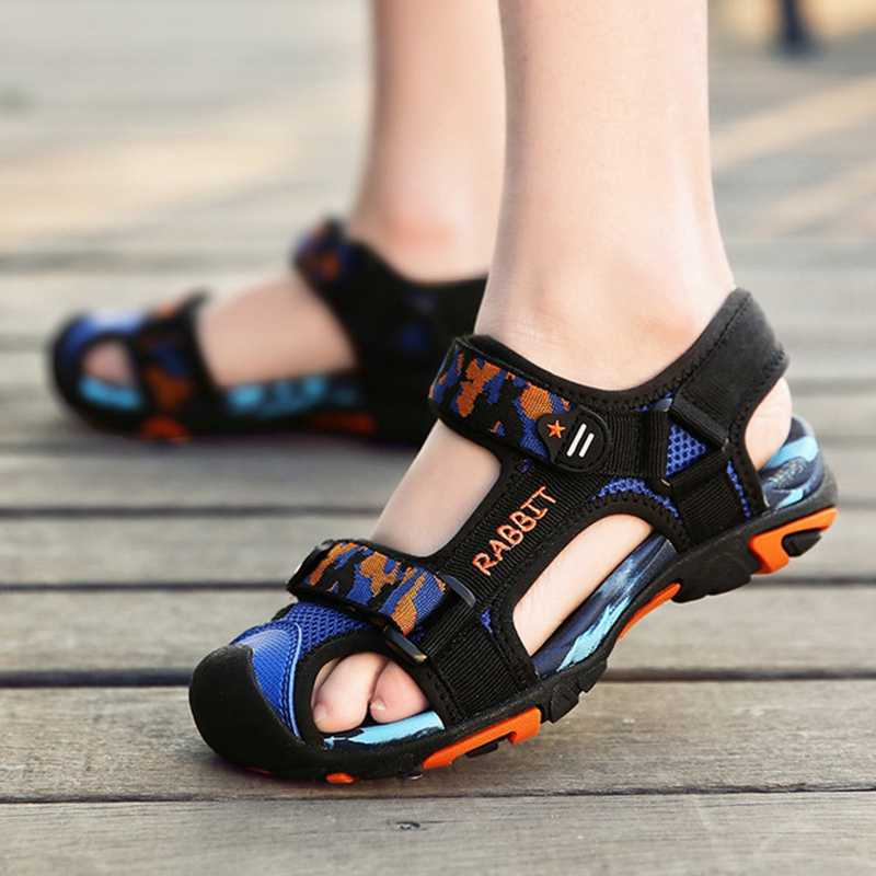 Children Sandals For Boy Orthopedic Shoes Beach Sandal Close Toe Kids  Summer Shoes Baby Boys Sport Sandals KS594 Sandals  - AliExpress