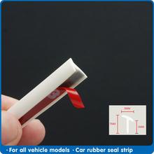 Biała gumowa uszczelka do drzwi samochodowych typu T taśma uszczelniająca do gumowa uszczelka samochodowa skośny zderzak przedni Auto gumowa uszczelka do drzwi uszczelka krawędziowa tanie tanio FDIK CN (pochodzenie) 2inch Rubber Wypełniacze Kleje i uszczelniacze 0 06kg seal ruuber 1inch FD-XIET 1m 2m 3m 4m 5m 6m 8m