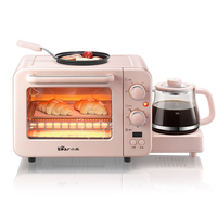 Household 8L Mini Oven Electric Oven Pizza 3 In 1 Breakfast Maker High Capacity Convection Electric Oven for Bread Toaster 220V