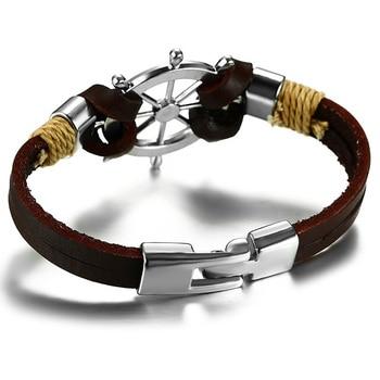 Bracelet rétro gouvernail  2