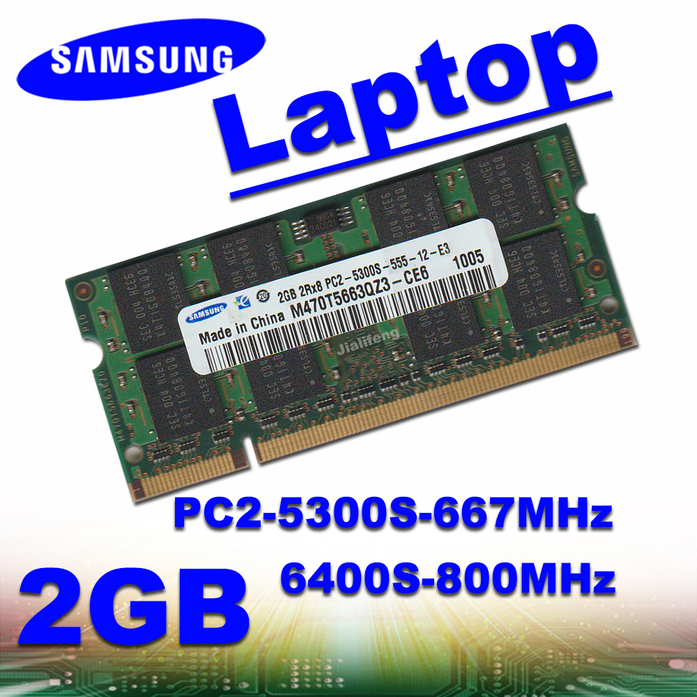 Ordenador portátil Samsung DDR2 2GB 5300S 6400S RAM pc2-667MHz 800MHz 1333MHz 1600MHz 1866MHz 1 GB 2GB 4GB 8GB 16GB 32GB Kembona original chips marca PC de escritorio DDR2 1 GB/2 GB/4 GB 800 MHz/667 MHz/533 MHz DDR 2 DIMM-240-Pins escritorio memoria Ram