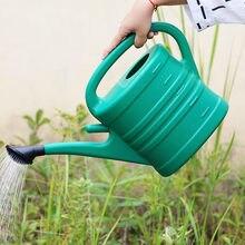 10l grande capacidade long-mouth jardinagem rega garrafa de água latas planta pote garrafa dispositivo de rega ferramenta de jardim pequeno buraco