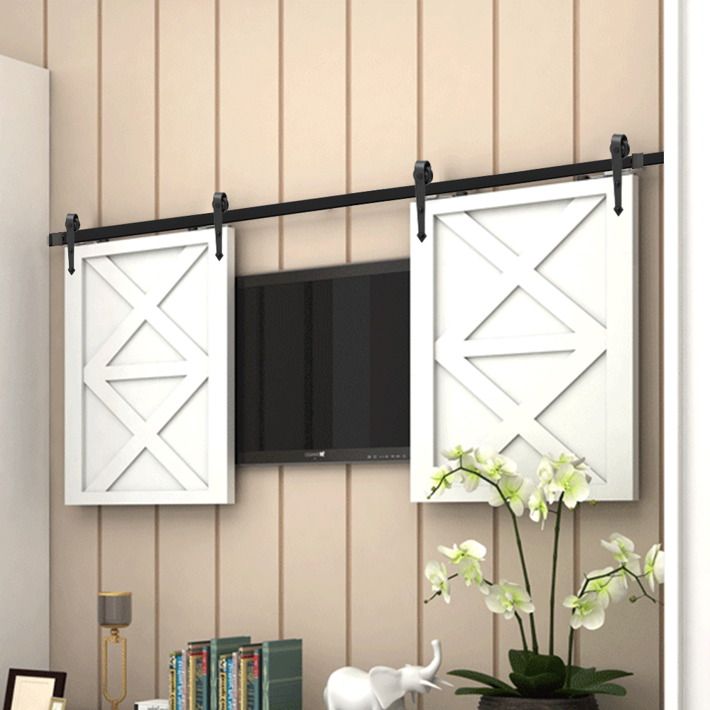 От 24 до 72 дюймов, мини-шкафчик в форме стрелы для двойной двери