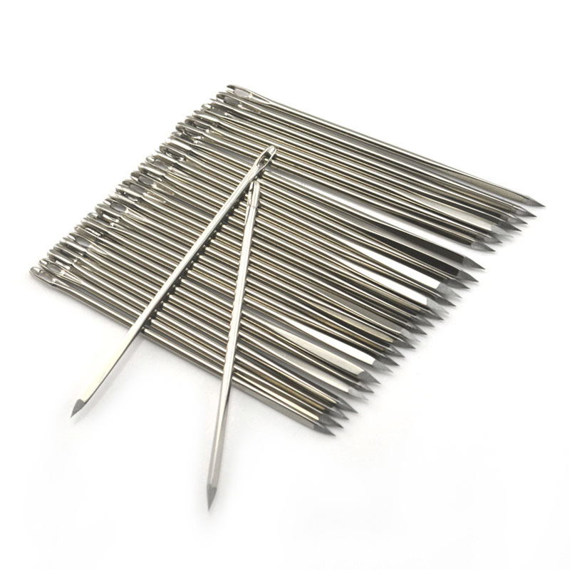 Leathercraft DIY Leather Triangular Needles Leather Fur Special Stainless Steel Shaped Pin Stitch Needlework Sewing Supplies