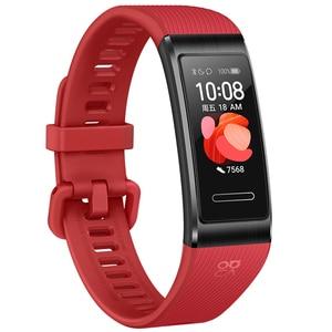 Image 4 - Huawei להקת 4 פרו SmartBand קצב לב בריאות צג העצמאי GPS פרואקטיבית בריאות ניטור SpO2 דם חמצן