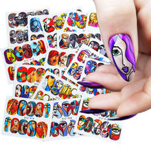 1 шт Слайдеры для ногтей наклейки s маникюрная наклейка все