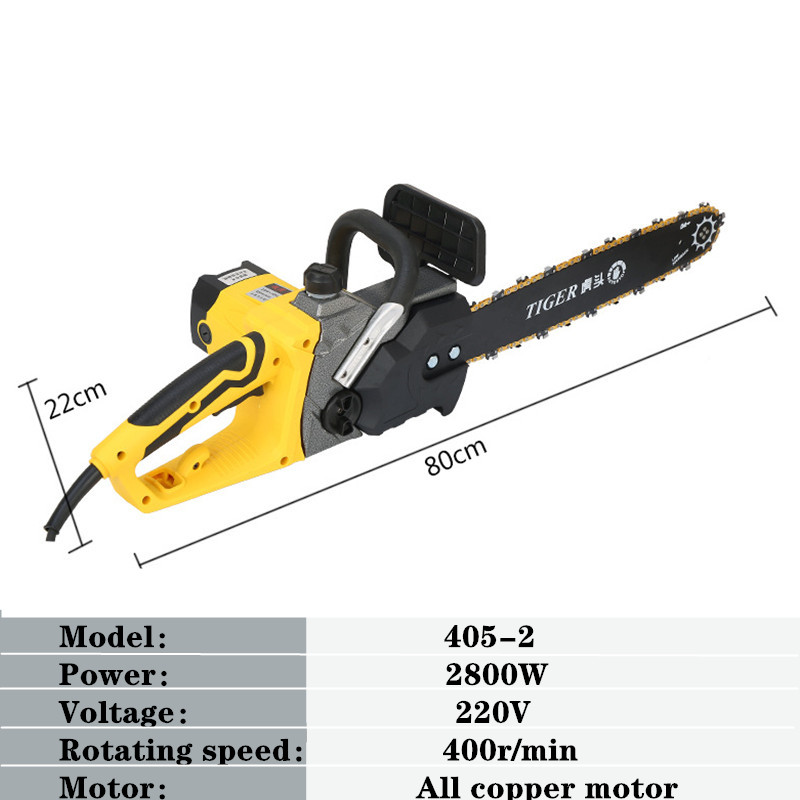 Electric Chain Saw  Household Electric Saw  Multi-function Automatic Pump Oil Woodworking Electric Saw