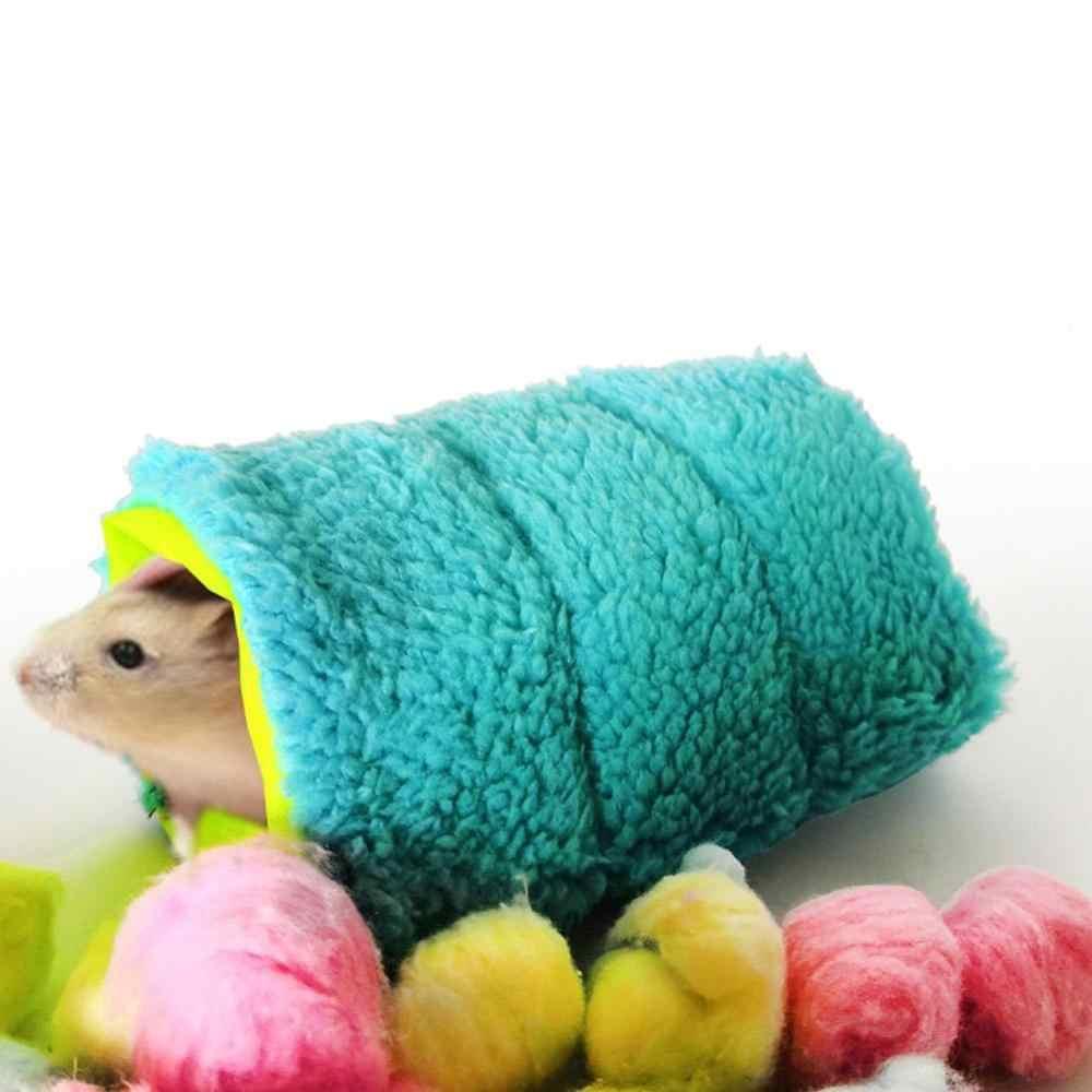 الحيوانات الأليفة الصغيرة قفص هامستر دافئ نفق أرجوحة معلقة سرير فيريت الفئران بول الهامستر الطيور السنجاب كهف كوخ قفص الهامستر الملحقات