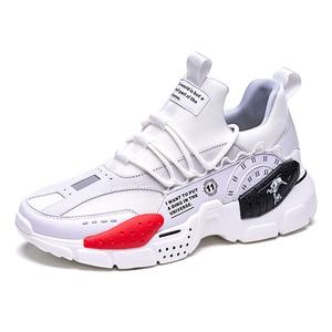 Image 2 - ONEMIX احذية الجري للرجال زيادة 4 سنتيمتر Ulzza Harajuku أحذية رياضية توسيد الارتفاع منصة تنفس شبكة رياضة المشي