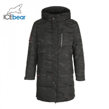 ICEbear 2019 חדש חורף גברים למטה מעיל אופנה חורף מעילי זכר הלבשה עליונה מותג בגדי YT8117090