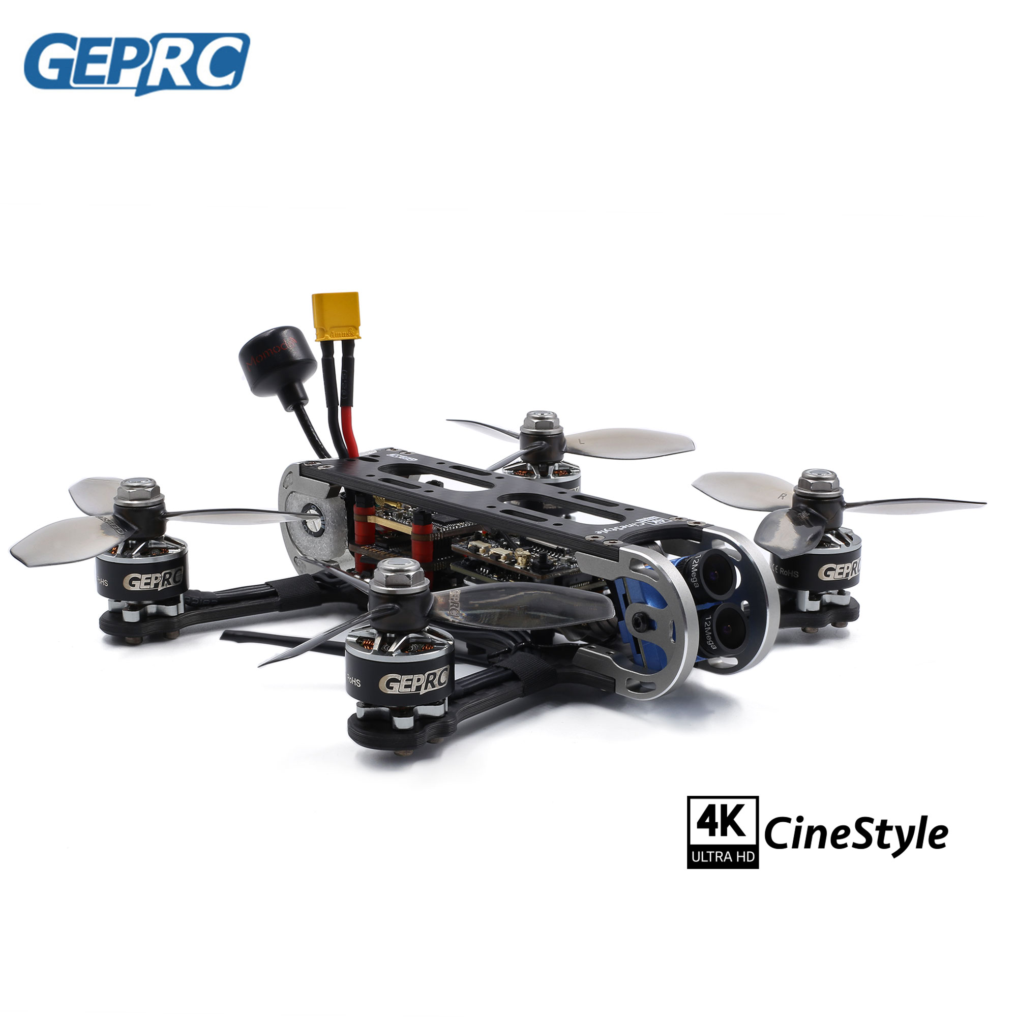 GEPRC CineStyle 4K 144mm F7 Dual Gyro Flight Controller 35A ESC 1507 3600KV Brushless Motor DIY FPV Racing Drone