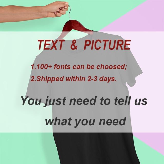EU Size 100% Cotton Custom T Shirt Make Your Design Logo Text Men Women Print Original Design High Quality Gifts Tshirt 2