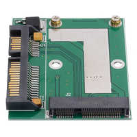 Mayitr-Placa de módulo adaptador para Cables de ordenador, adaptador de tarjeta, adaptador GPS, 1 unidad, Mini PCI-E MSATA SSD a SATA 2,5 de 6,0''