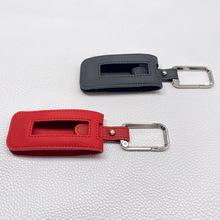 Skórzana obudowa kluczyka do samochodu Porsche Panamera Cayenne 992 911 rękaw ochronny inteligentna jakość obudowa kluczyka do samochodu pokrywa torba obudowa kluczyka samochodowego tanie tanio CN (pochodzenie) Skórzane Genuine leathe Key packet 5 colors avaliable Seller provide installation For Porsche Panamera 971 Cayenne 9YA
