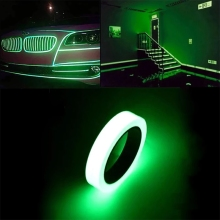 Luminous-Stickers Car-Decoration Car-Styling-Accessories Fluorescent-Band Christmas Dark
