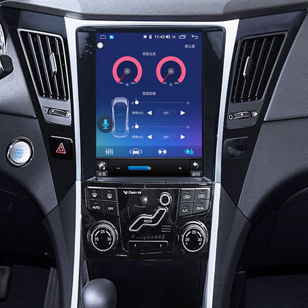 ZOYOSKII Android 9.0 10.4 Inch Vertical Screen Car Gps Multimedia Radio Bt Navigation Player For Hyundai Sonata 8 2010-2015