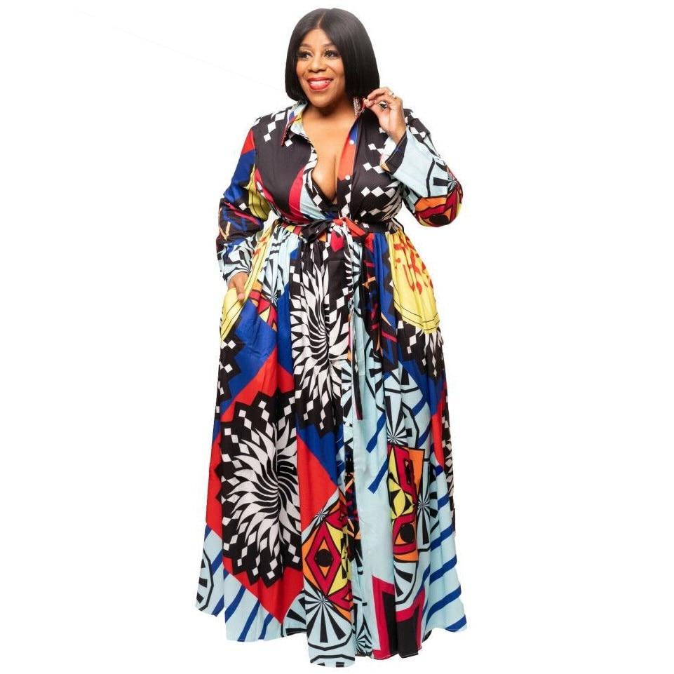 Vestidos africanos para mujeres bata Africana ropa Africana Dashiki moda impresión tela largo Maxi vestido África ropa