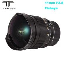 TTArtisan 11mm F2.8 objectif manuel Ultra large Fisheye pour Sony E mount A7II A7RII A7SII A6300 A6500 pour monture Nikon Z