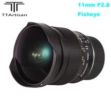 Ttartisan 11Mm F2.8 Volledige Fame Ultra Wide Fisheye Manual Lens Voor Sony E Mount A7II A7RII A7SII A6300 a6500 Voor Nikon Z Mount