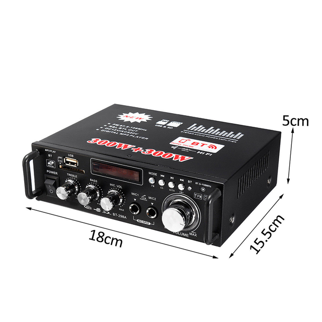 600w Bluetooth Audio Amplifier 7