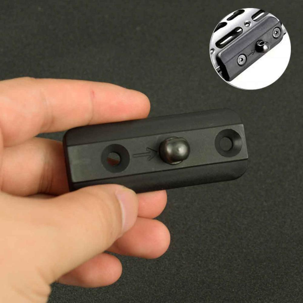Tactical KeyMod Sling Swivel Stud Harris Style Bipod Adapter Handguard Picatinny Rail Plastic Adapter Rifle Hunting Accessories
