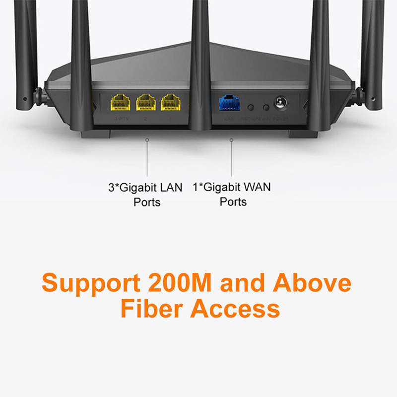lowest price Tenda Nova MW6 WiFi Gigabit Router Whole Home Mesh WiFi System with 11AC 2 4G 5 0GHz  Wireless WI-FI Repeater APP Remote Manage