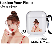 Case Airpod-Cover Custom Air-Pods-1 Wireless Photo-Letters Bluetooth for 2-pro/Case/Custom/..