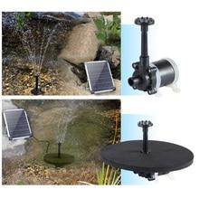 8/16 Nozzles Black Outdoor Solar Powered Fountain Pond Swimming Pool Patio Decorative Solar Powered Fountain Garden Decoration