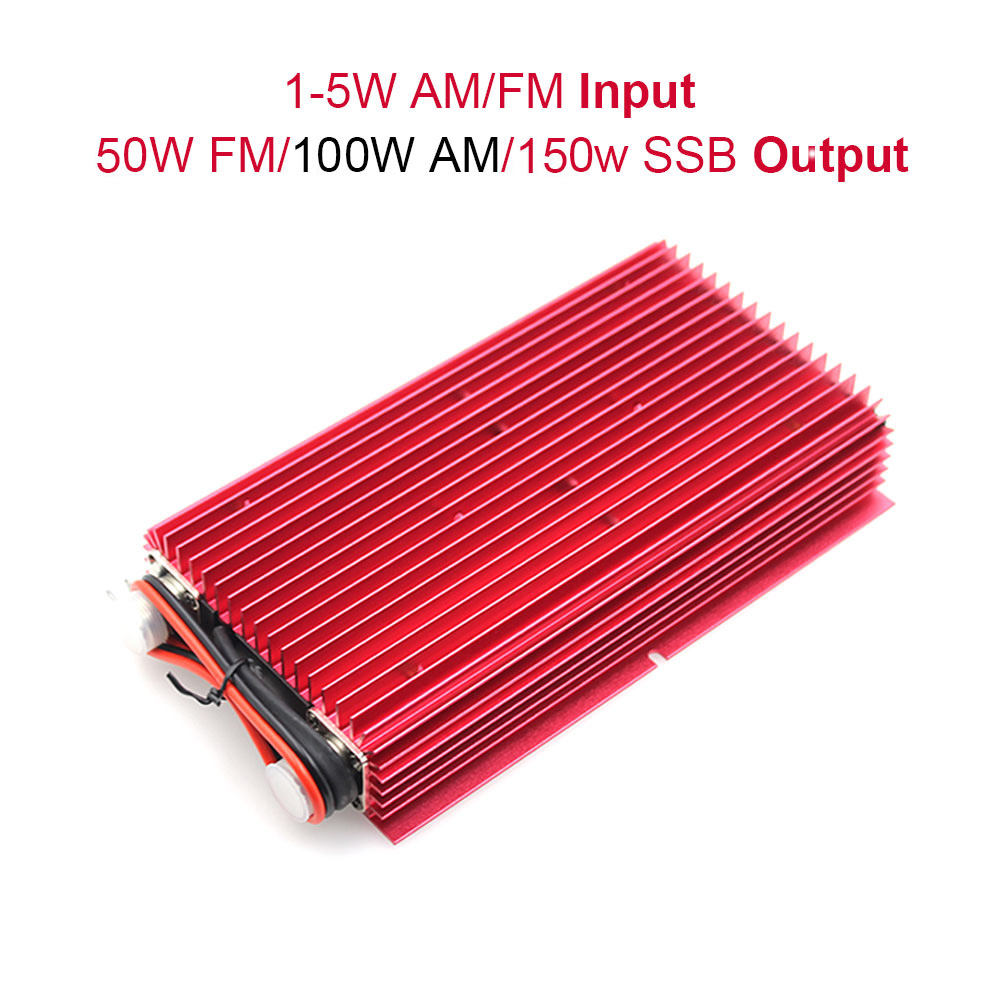 Baojie BJ-200 Power Amplifier 50W FM 100W AM 150W SSB 25-30MHZ Mini-size And High Power CB Radio Amplifier BJ200