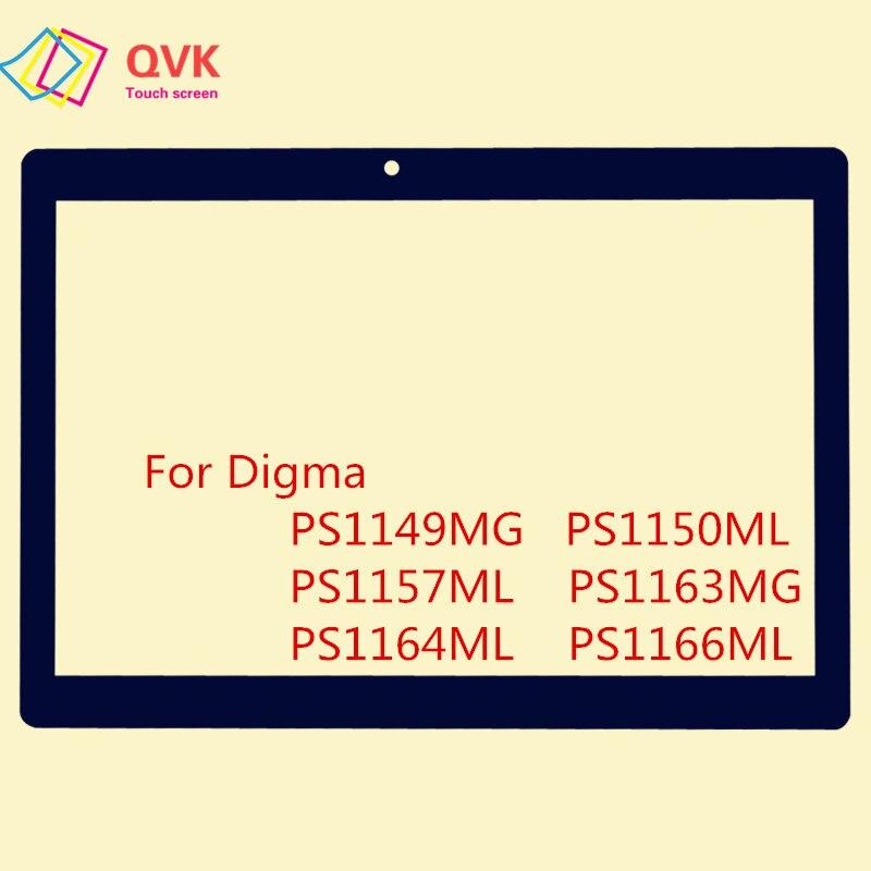 10.1 Inch Black For Digma Plane 1537E 1538E 1541E 1550S 1551S 1553M Capacitive Touch Screen Panel Repair Replacement Parts