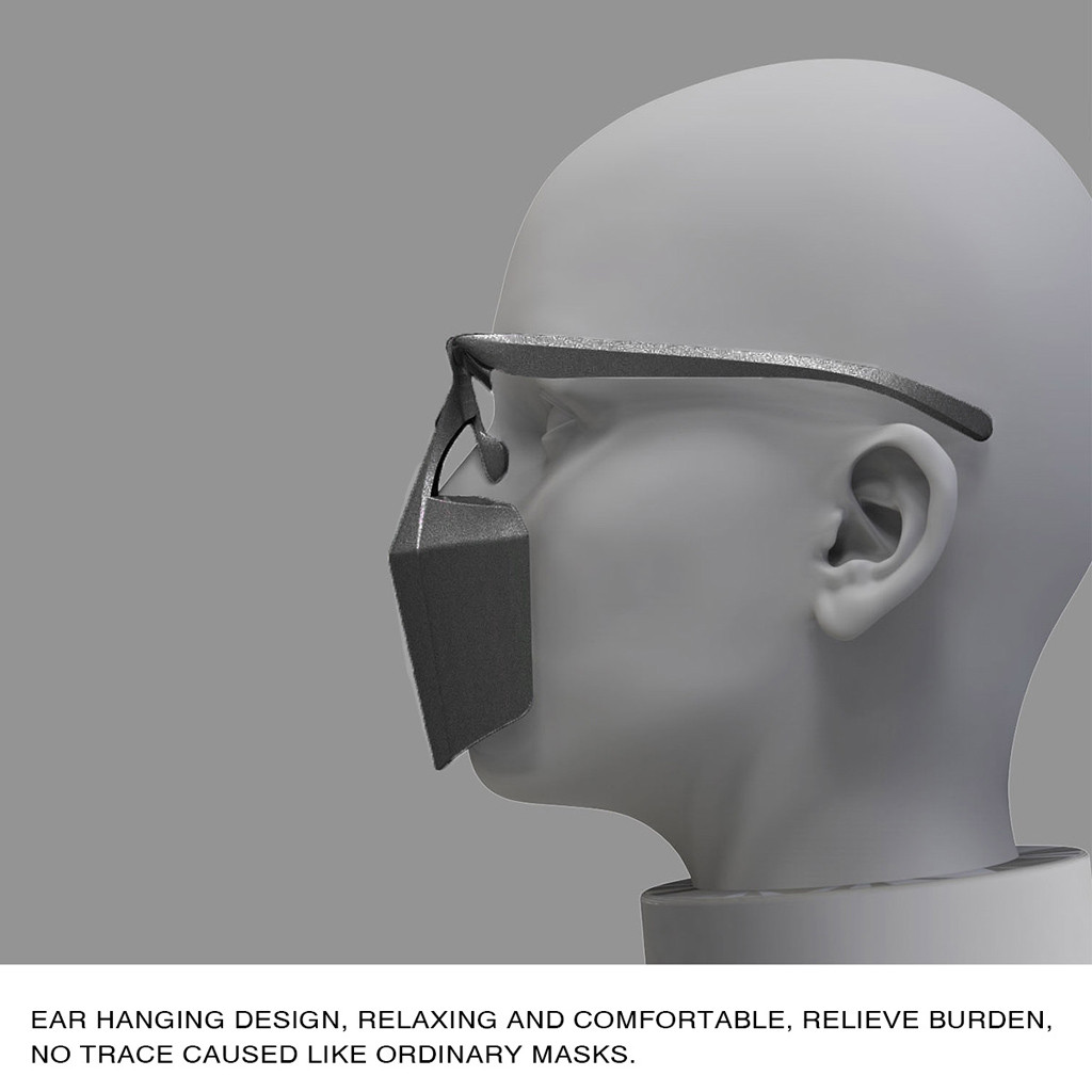 Head - Mask for Face Women Face Mask Splash Spray Protective Equipment Mondmasker Scarf Mascarilla Re-utilizable