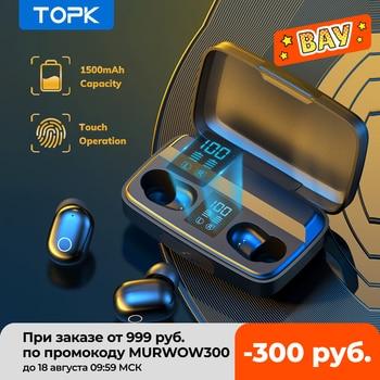 TOPK T10 TWS Беспроводные наушники 1