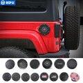 Чехлы на бак MOPAI для Jeep Wrangler JK 2007-2017  автомобильные масляные крышки  крышка топливного бака для Jeep Wrangler  аксессуары для стайлинга автомобиля