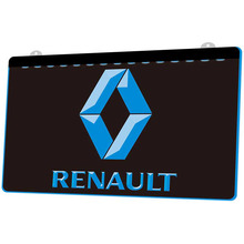 Led-Neon-Sign Truck Renault Magnum Decoration Sculpted LD2166 9-Colors 3D And Wholesale