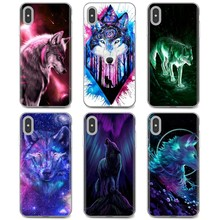 For Xiaomi Redmi 4A 7A S2 Note 8 3 3S 4 4X 5 Plus 6 7 6A Pro Pocophone F1 Anime Galaxy Wolf 2 Cartoon Silicone Phone Case(China)