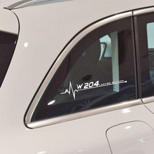 Светоотражающие Автомобиля Боковой Двери Тела Наклейка Окно Наклейки Для Benz W204 Мерседес W205 На W176 W210 W211 Мерседес W212 Мерседес W213 W220 Мерседес W463 Аксессуары