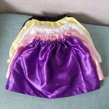 Детская бальная юбка-пачка для девочек юбки из сатина подкладка для внутренней одежды, юбка-американка Нижняя юбка(можно изготовить на заказ