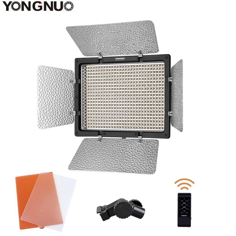 Светодиодный светильник YONGNUO YN600L YN600, панель с регулируемой цветовой температурой 3200K 5500K, студийный светильник для фотосъемки