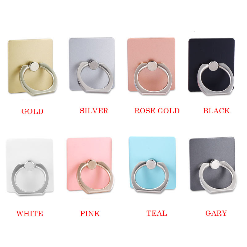 UVR 360 Degree Metal Luxury Finger Ring Smartphone Stand Holder Mobile Phone Holder Stand For IPhone All Phone