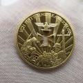 1941-1945 Германия медали позолоченные монеты Erwin Rommel армейские маршалы памятные монеты для сувенира