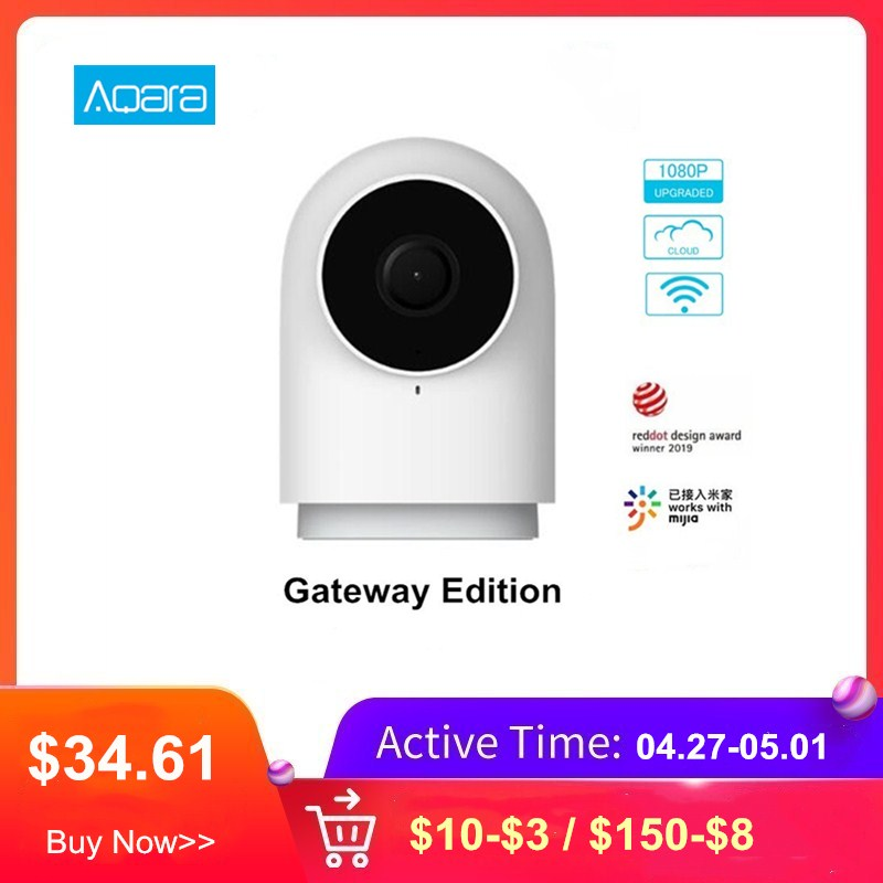 Aqara Smart Kamera G2 Gateway Edition 1080P Intelligente IP Kamera Zigbee Verknüpfung APP Control Wireless Cloud Home Security Gerät