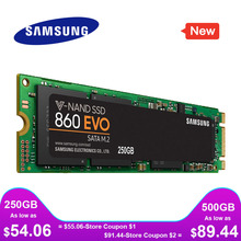 SAMSUNG SSD M2 860 EVO M.2 2280 SATA 1TB 500GB 250GB Interne Solid State Disk Festplatte HDD M2 Laptop Desktop PC TLC PCLe M.2